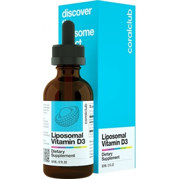 Liposomal Vitamin D3<br />(60 ml)